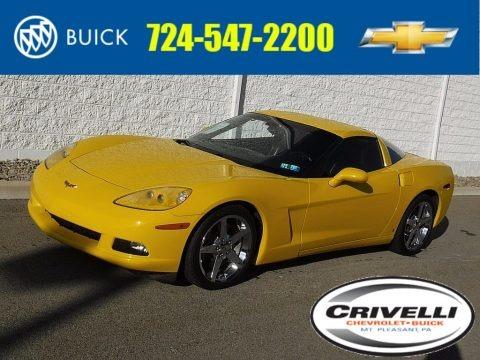 Velocity Yellow 2006 Chevrolet Corvette Coupe