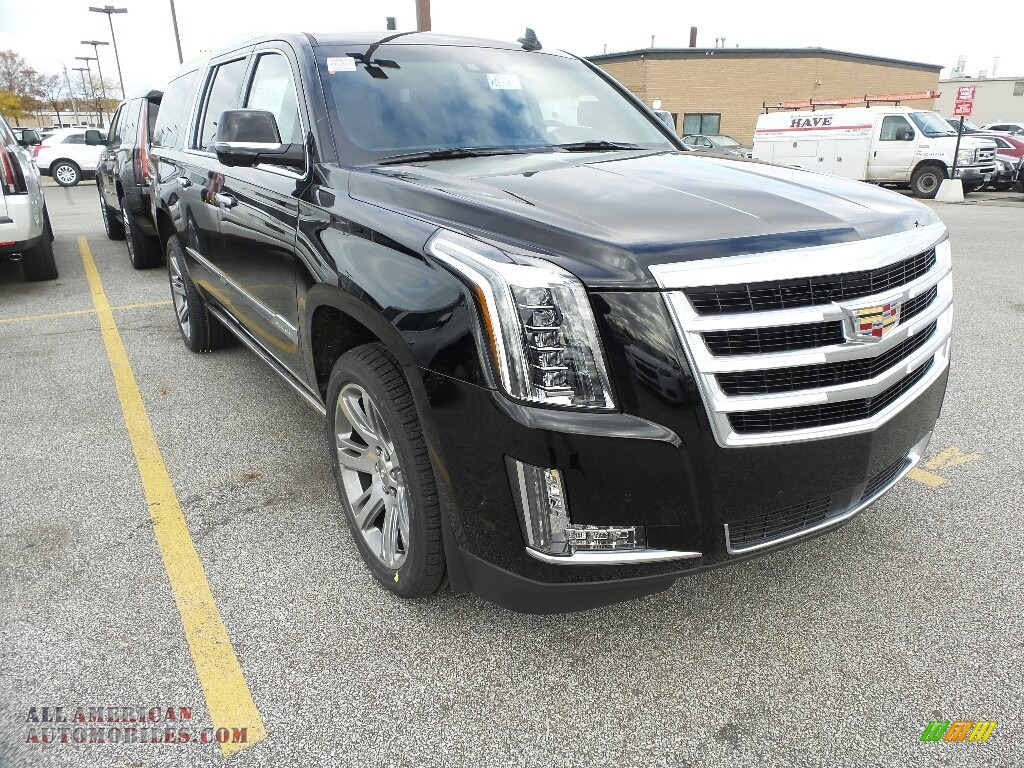 2018 Escalade ESV Premium Luxury 4WD - Black Raven / Jet Black photo #1