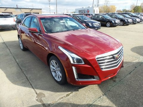 Red Obsession Tintcoat 2018 Cadillac CTS AWD