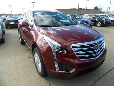 Red Passion Tintcoat 2018 Cadillac XT5 AWD