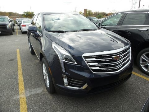 Harbor Blue Metallic 2018 Cadillac XT5 AWD