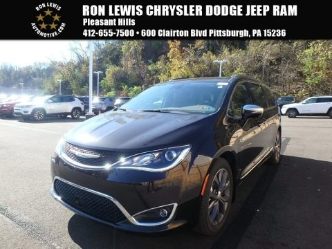Dark Cordovan Pearl 2018 Chrysler Pacifica Limited