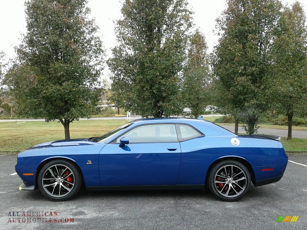 2018 Challenger R/T Scat Pack - IndiGo Blue / Black photo #1