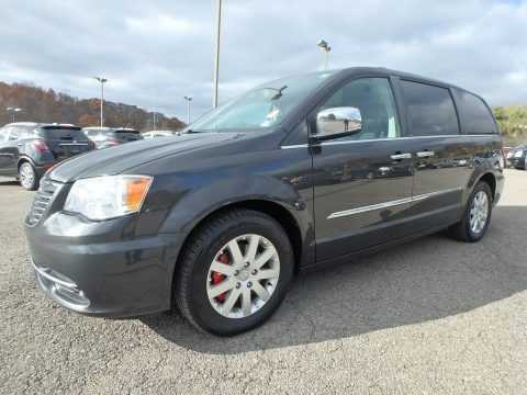 Dark Charcoal Pearl 2012 Chrysler Town & Country Touring - L