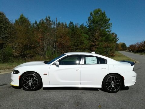 White Knuckle 2018 Dodge Charger R/T Scat Pack