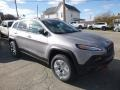 Jeep Cherokee Trailhawk 4x4 Billet Silver Metallic photo #7