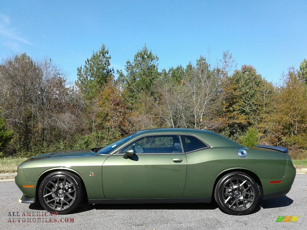2018 Challenger R/T Scat Pack - F8 Green / Black photo #1