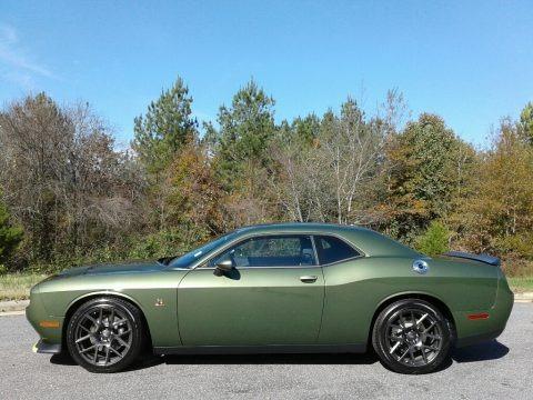 F8 Green 2018 Dodge Challenger R/T Scat Pack