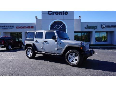 Billet Silver Metallic 2015 Jeep Wrangler Unlimited Sport 4x4