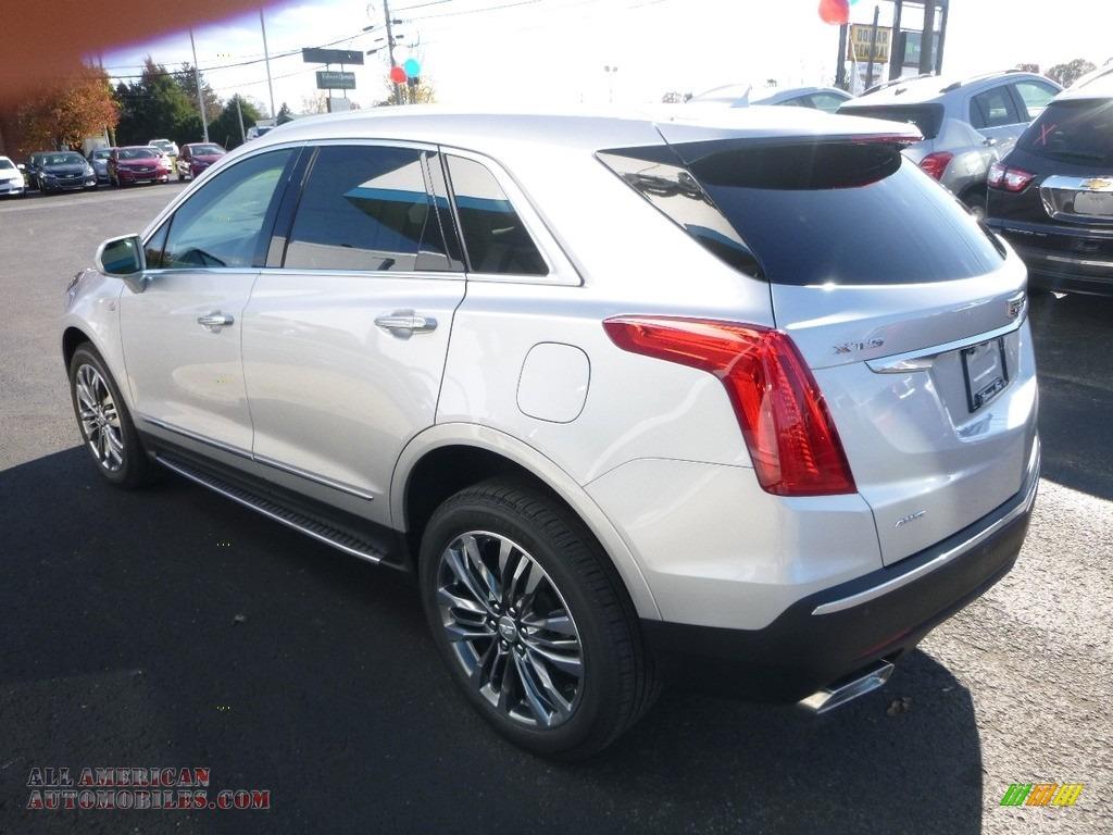 2018 XT5 Premium Luxury AWD - Radiant Silver Metallic / Jet Black photo #6