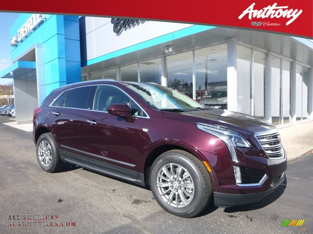 Deep Amethyst Metallic / Jet Black Cadillac XT5 Luxury AWD