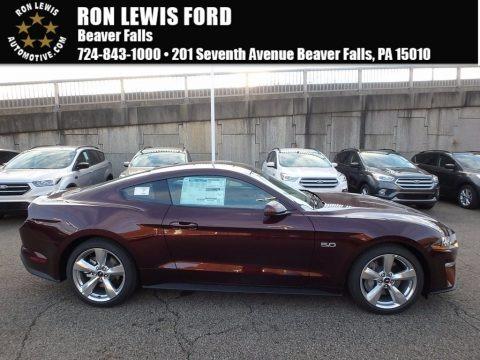 Royal Crimson 2018 Ford Mustang GT Premium Fastback