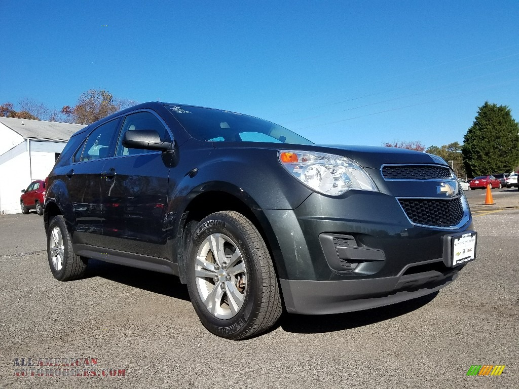 2014 Equinox LS AWD - Ashen Gray Metallic / Light Titanium/Jet Black photo #1