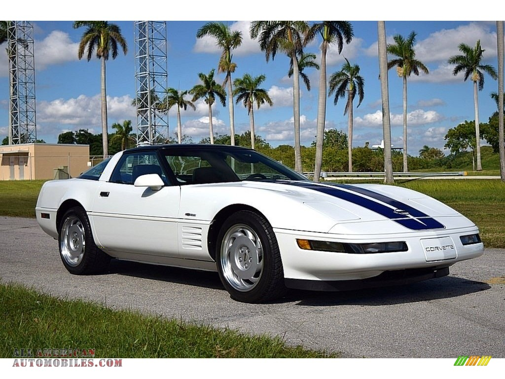 1992 Corvette Coupe - Arctic White / Black photo #1