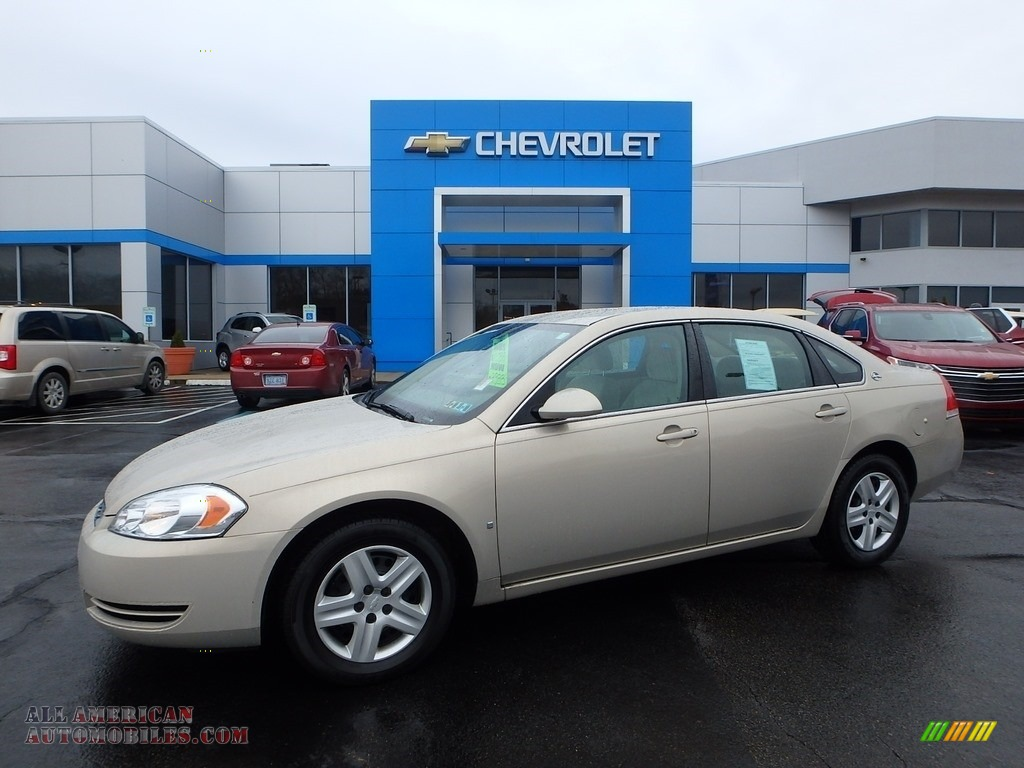 Gold Mist Metallic / Neutral Beige Chevrolet Impala LS
