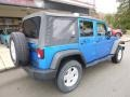 Jeep Wrangler Unlimited Sport 4x4 Hydro Blue Pearl photo #2