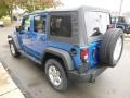 Jeep Wrangler Unlimited Sport 4x4 Hydro Blue Pearl photo #7