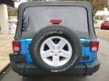 Jeep Wrangler Unlimited Sport 4x4 Hydro Blue Pearl photo #8
