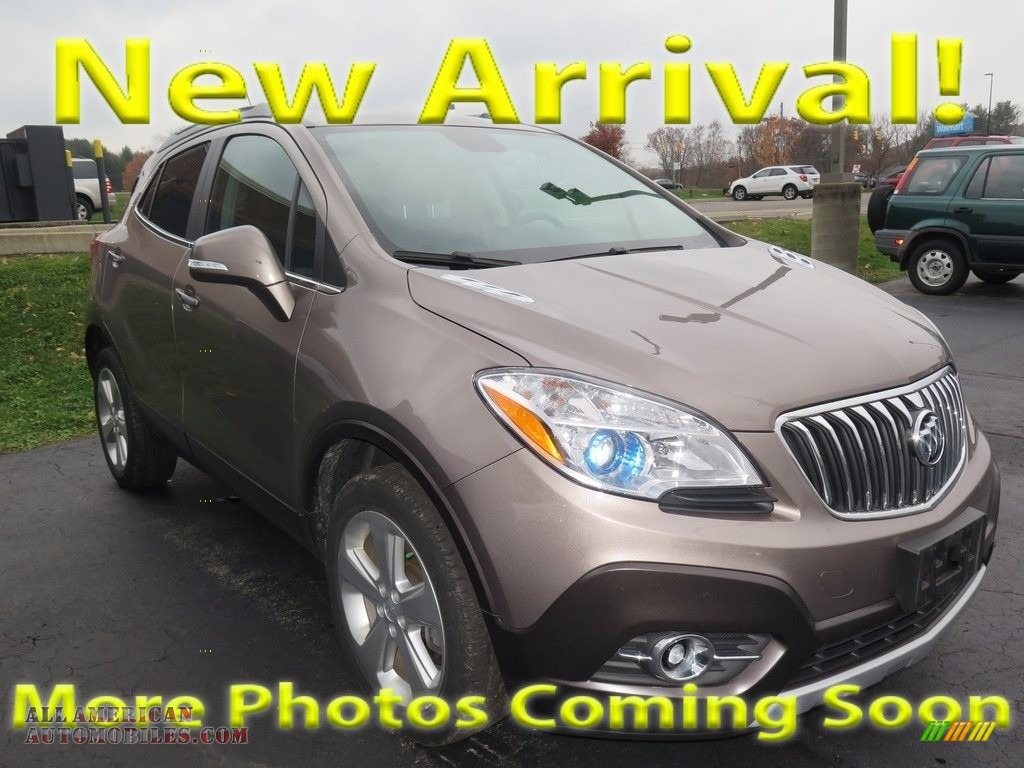 2015 Encore Convenience - Deep Espresso Brown Metallic / Ebony photo #1
