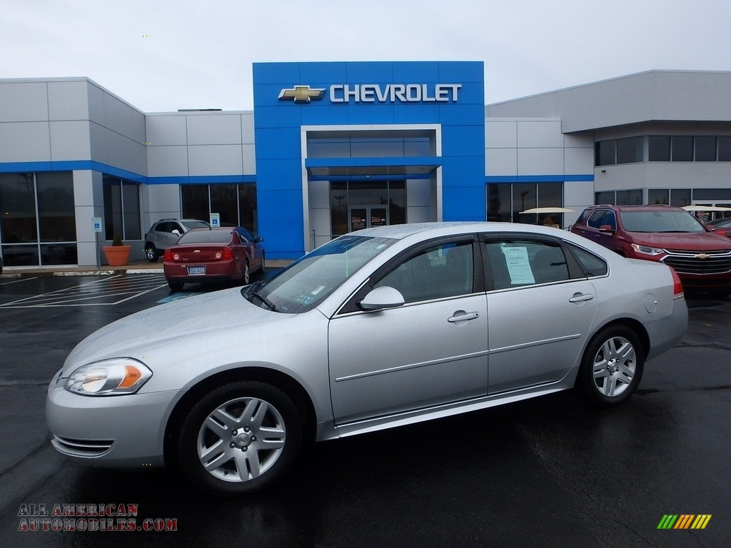 2012 Impala LT - Silver Ice Metallic / Ebony photo #1