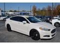 Ford Fusion SE White Platinum Tri-Coat Metallic photo #1