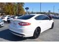 Ford Fusion SE White Platinum Tri-Coat Metallic photo #3