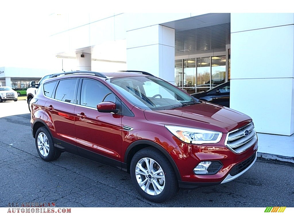 2018 Escape SEL - Ruby Red / Charcoal Black photo #1