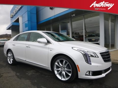 Crystal White Tricoat 2018 Cadillac XTS Premium Luxury AWD
