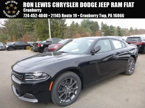 Pitch Black 2018 Dodge Charger GT AWD