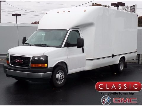 Summit White 2017 GMC Savana Cutaway 3500 Commercial Moving Truck