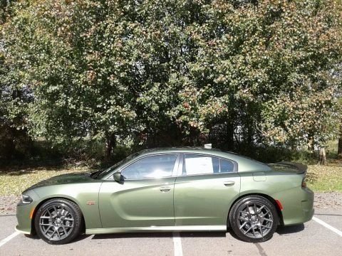 F8 Green 2018 Dodge Charger R/T Scat Pack