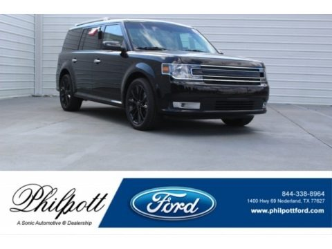 Shadow Black 2018 Ford Flex SEL