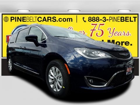 Jazz Blue Pearl 2018 Chrysler Pacifica Touring L Plus