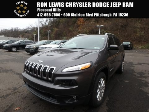 Granite Crystal Metallic 2018 Jeep Cherokee Latitude Plus