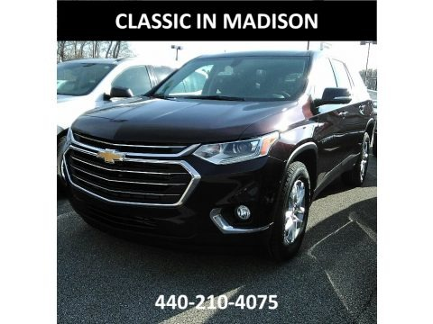 Black Currant Metallic 2018 Chevrolet Traverse LT AWD