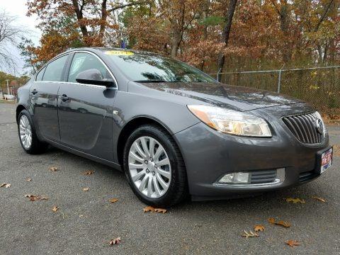 Granite Gray Metallic 2011 Buick Regal CXL