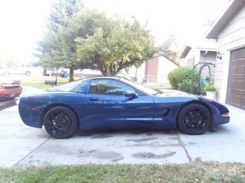 LeMans Blue Metallic 2004 Chevrolet Corvette Coupe