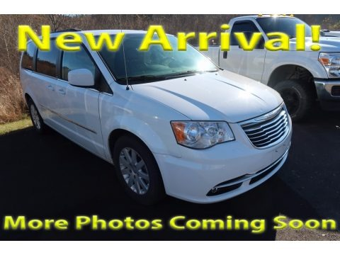 Bright White 2014 Chrysler Town & Country Touring
