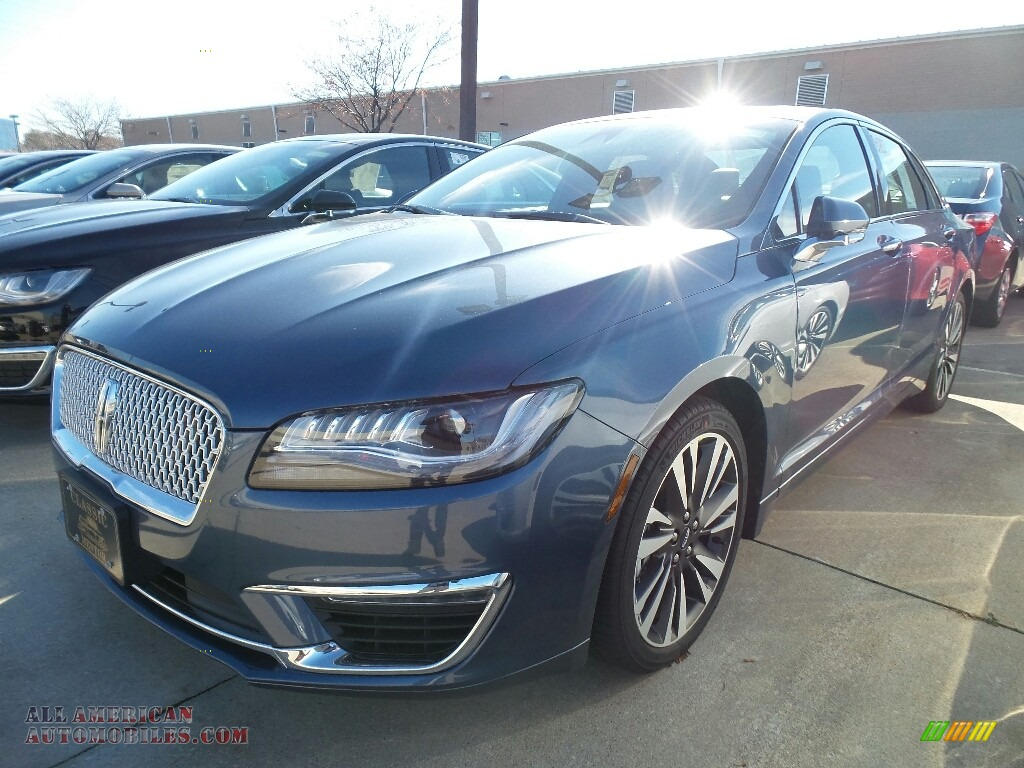 2018 MKZ Reserve - Blue Diamond Metallic / Ebony photo #1