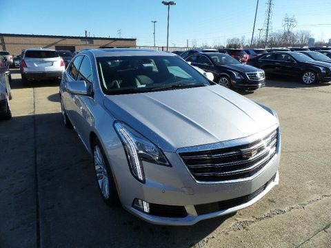 Radiant Silver Metallic 2018 Cadillac XTS Luxury AWD