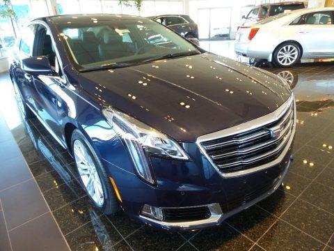 Dark Adriatic Blue Metallic 2018 Cadillac XTS Luxury AWD