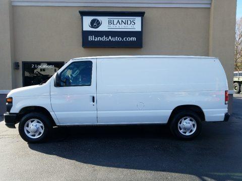 Oxford White 2014 Ford E-Series Van E150 Cargo Van