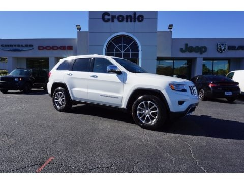 Bright White 2016 Jeep Grand Cherokee Limited