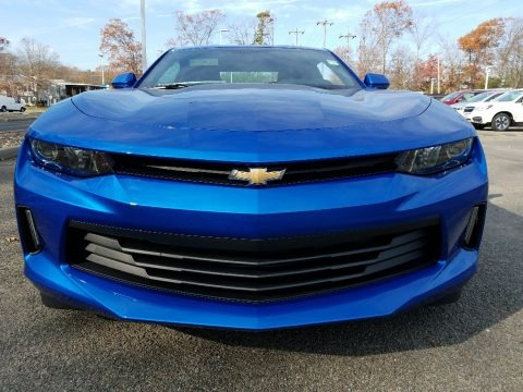 Hyper Blue Metallic 2018 Chevrolet Camaro LT Coupe