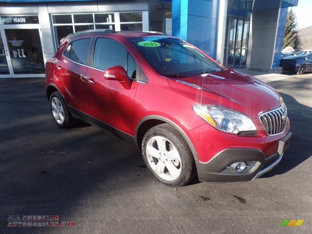 Ruby Red Metallic / Ebony Buick Encore Convenience