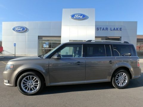 Mineral Gray 2014 Ford Flex SEL AWD