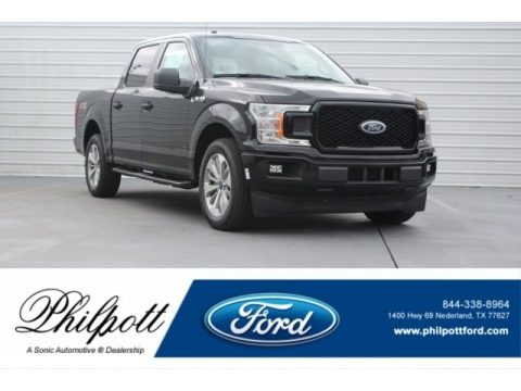 Shadow Black 2018 Ford F150 STX SuperCrew