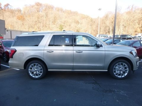 White Gold 2018 Ford Expedition Platinum Max 4x4