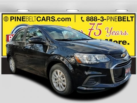 Mosaic Black Metallic 2018 Chevrolet Sonic LT Sedan