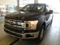 Ford F150 XLT SuperCab 4x4 Shadow Black photo #4
